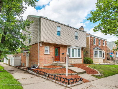 Chicago Single Family Home New: 5300 North Lockwood Avenue