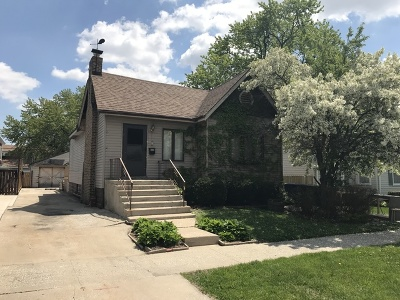 Evergreen Park Single Family Home New: 9235 South St Louis Avenue