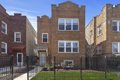 Chicago Single Family Home New: 3916 North Spaulding Avenue