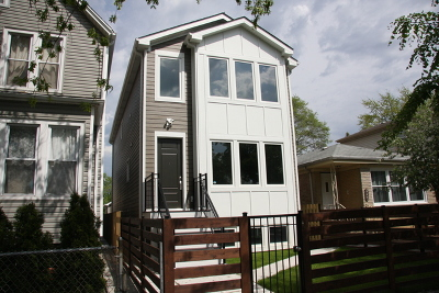 Chicago Single Family Home New: 3537 North Kostner Avenue