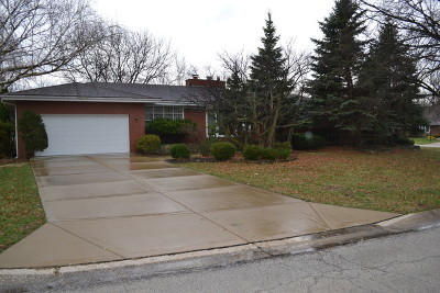 Palos Heights, Palos Hills Single Family Home For Sale: 6733 West Wyandot Drive