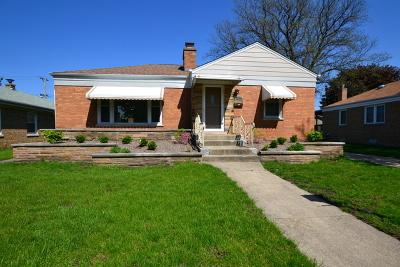 Evergreen Park Single Family Home New: 9927 South Sawyer Avenue
