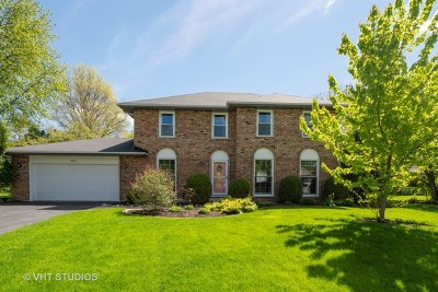 Naperville Single Family Home New: 2022 Exmoor Court