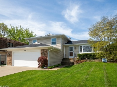 Hoffman Estates Single Family Home New: 4240 Mumford Drive