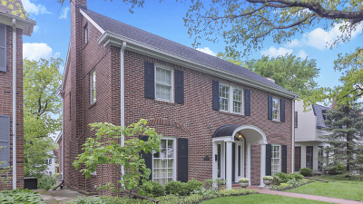 Evanston Single Family Home New: 2754 Ridge Avenue