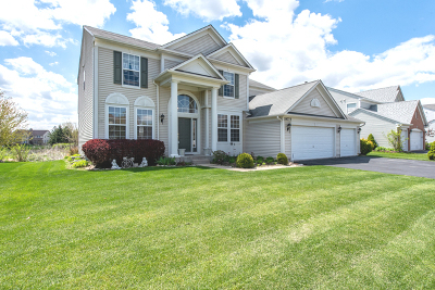 Lake Villa Single Family Home New: 18775 West Glenhurst Drive