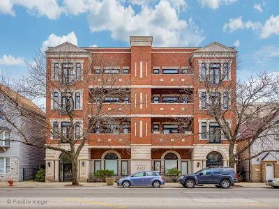 Condo/Townhouse For Sale: 4525 North Western Avenue #2C
