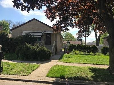 Evergreen Park Single Family Home New: 9232 South Avers Avenue