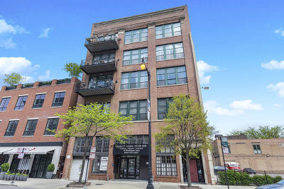 Condo/Townhouse New: 1016 West Madison Street #4N