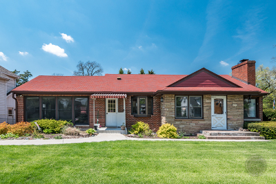 Warrenville Single Family Home For Sale: 3s514 4th Street
