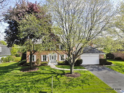 Oak Brook Single Family Home New: 19w127 Avenue Latour