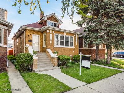 Elmwood Park Single Family Home New: 7849 West Oakleaf Avenue