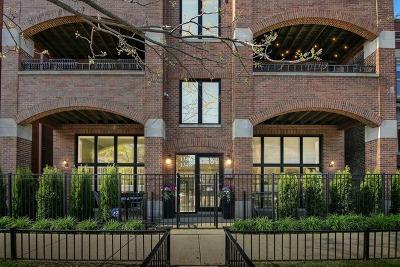 Condo/Townhouse For Sale: 1346 West Addison Street #2E