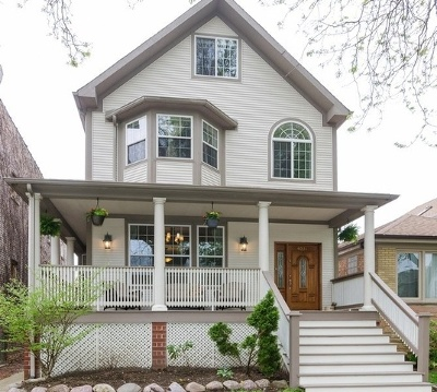 Chicago Single Family Home New: 4031 West Patterson Avenue