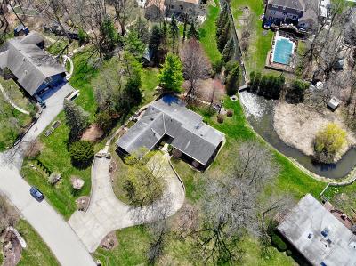 Homer Glen Single Family Home For Sale: 14436 Oak Trail