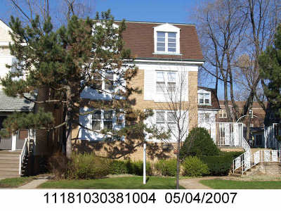 Evanston, Skokie Rental For Rent: 2038 Sherman Avenue #1B
