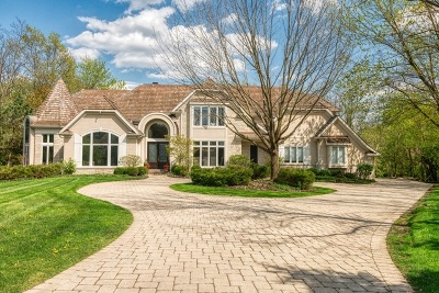 Oak Brook Single Family Home New: 111 Covington Court