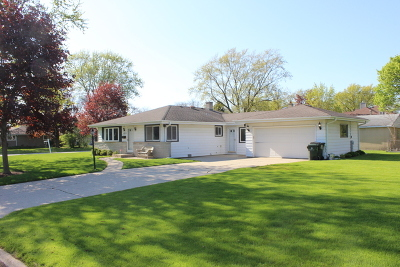 Glenview Single Family Home For Sale: 1213 Longmeadow Drive