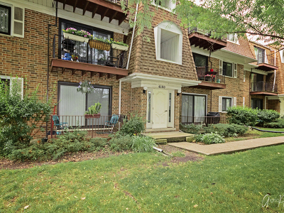 Glenview Condo/Townhouse For Sale: 4100 Cove Lane #1A