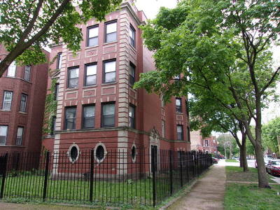 Chicago Multi Family Home New: 8000 South Langley Avenue