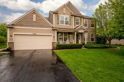 North Aurora Single Family Home New: 2880 Leonard Lane