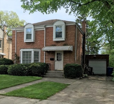 Chicago Single Family Home New: 4111 North Plainfield Avenue