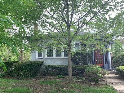 Glenview Single Family Home For Sale: 1100 Washington Street