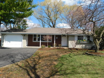 Buffalo Grove Single Family Home For Sale: 5 Forestway Court
