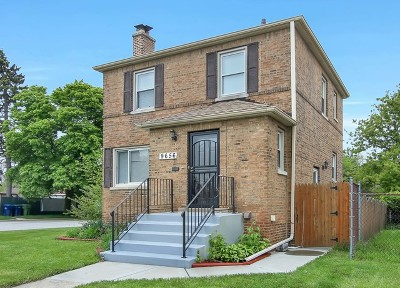 Evergreen Park Single Family Home New: 9656 South Maplewood Avenue