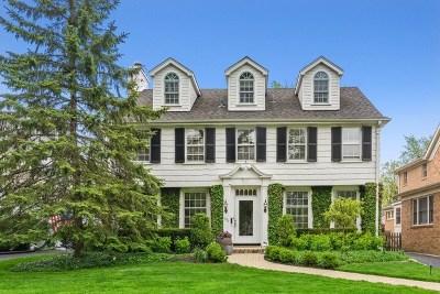 Wilmette Single Family Home For Sale: 1350 Ashland Avenue
