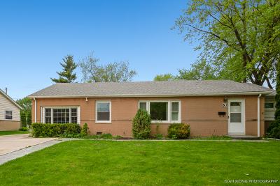 Hoffman Estates Single Family Home New: 80 North Des Plaines Lane