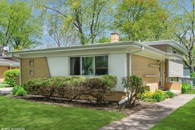 Arlington Heights Single Family Home New: 1415 North Highland Avenue