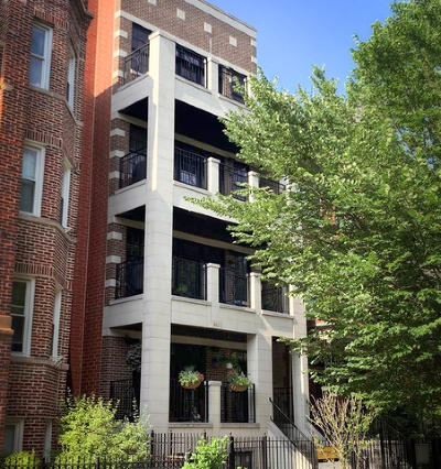 Chicago Condo/Townhouse New: 862 West Roscoe Street #3