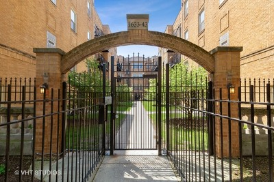 Chicago Condo/Townhouse New: 1637 West Farwell Avenue #1