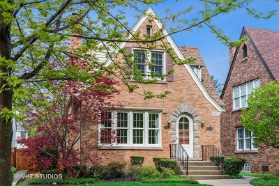 Evanston Single Family Home New: 2522 Lawndale Avenue
