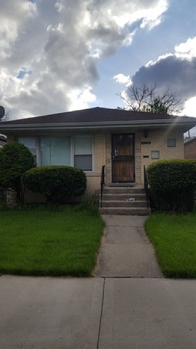 Chicago Single Family Home New: 10338 South Prairie Avenue