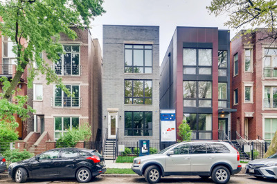 Chicago Condo/Townhouse New: 879 North Hermitage Avenue #2