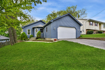 Wauconda Single Family Home New: 614 Lake Shore Boulevard