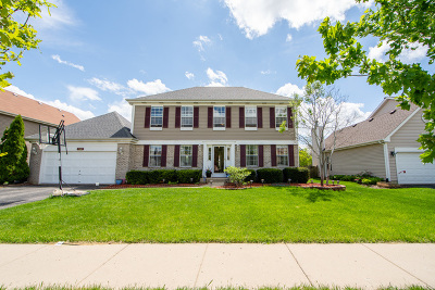 Carol Stream Single Family Home For Sale: 1122 Winding Glen Drive