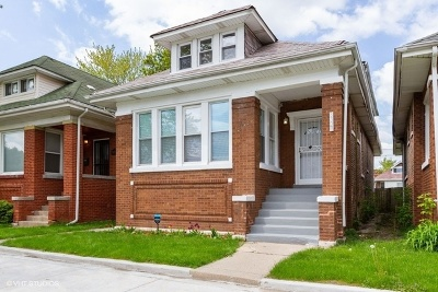 Chicago Single Family Home New: 8328 South Elizabeth Avenue