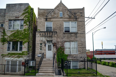 Chicago Multi Family Home New: 4641 South Evans Avenue
