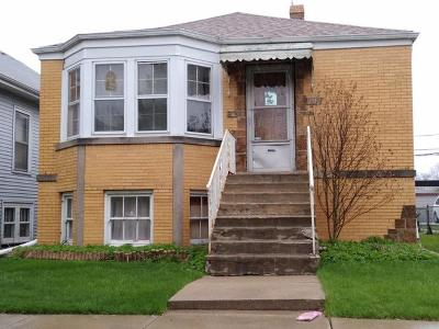Chicago Single Family Home New: 5541 West Schubert Avenue
