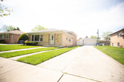 South Holland Single Family Home For Sale: 863 East 166th Street