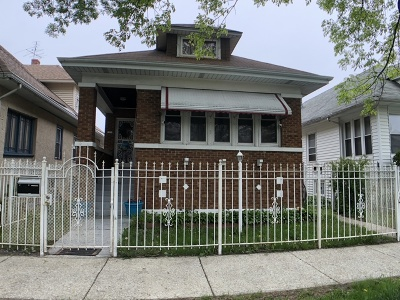 Chicago Single Family Home New: 1321 North Waller Avenue