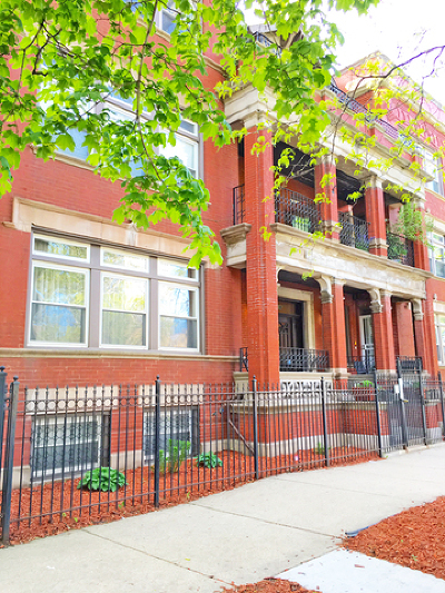 Chicago Condo/Townhouse New: 3544 South King Drive #2D