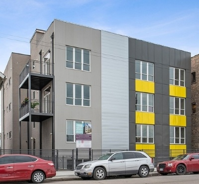 Chicago Condo/Townhouse New: 1710 West Cermak Road #3S