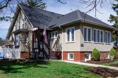 Chicago Single Family Home New: 6942 North Oriole Avenue