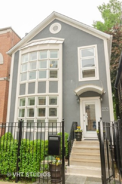 Chicago Single Family Home New: 2252 North Southport Avenue