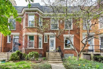 Chicago Single Family Home New: 1822 West Cornelia Avenue