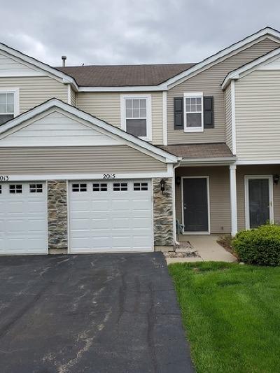 Carpentersville Condo/Townhouse For Sale: 2015 Limestone Lane